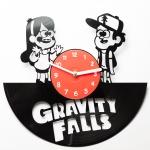 купить Виниловые часы Gravity Falls  цена, отзывы