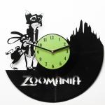 купить Виниловые часы Zoomania цена, отзывы