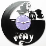 купить Виниловые часы My little pony цена, отзывы