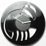 купить Виниловые часы Енот цена, отзывы