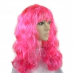 купить Парик Волнистый (розовый) цена, отзывы