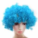 купить Парик Клоуна (голубой) цена, отзывы