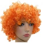 купить Парик Клоуна (оранжевый) цена, отзывы
