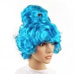 купить Парик Сказочной Принцессы (голубой) цена, отзывы