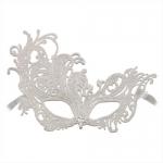 купить Венецианская маска Кружевная Леди белая  цена, отзывы
