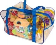 купить Сумка для игрушек (синяя) цена, отзывы