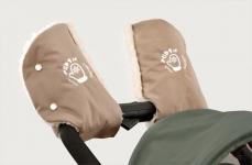 купить Руковички Муфта на коляску (бежевые) цена, отзывы