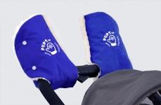 купить Руковички Муфта на коляску (синии) цена, отзывы