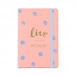 купить Блокнот Live every moment Pink цена, отзывы