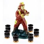 купить Коньячный набор Пожарник цена, отзывы
