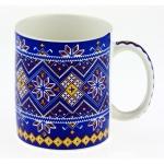 купить Чашка вышиванка синяя Dark Blue цена, отзывы