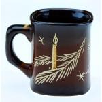купить Чашка свеча с елками цена, отзывы