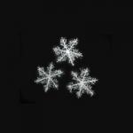 купить Снежинка декоративная 11х11см цена, отзывы