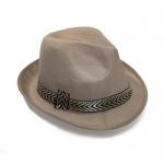 купить Шляпа Федора (бежевая) цена, отзывы