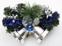 купить Новогодний венок Феодосий с колокольчиками 35,5 см цена, отзывы