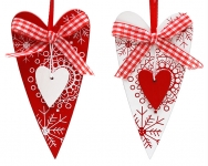 купить Елочное украшение Мое Сердце цена, отзывы