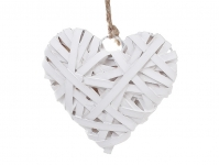 купить Новогодняя подвеска переплетаное сердце цена, отзывы