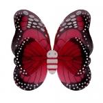 купить Крылья Бабочки пятнистые (красные) 42х48см цена, отзывы