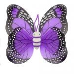 купить Крылья Бабочки пятнистые (фиолетовые) 42х48см цена, отзывы