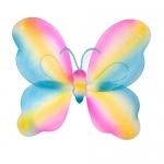 купить Крылья Бабочки радужные 42х44см цена, отзывы