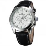купить Мужские классические часы Forsining Walker Silver цена, отзывы