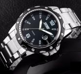 купить Мужские классические часы Skmei Robby Steel цена, отзывы