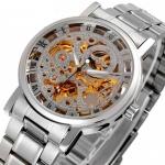 купить Мужские Скелетон часы Winner Space цена, отзывы