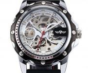 купить Мужские Скелетон часы Winner Platinum цена, отзывы
