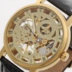 купить Мужские Скелетон часы Winner Gold цена, отзывы
