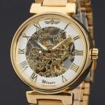 купить Мужские Скелетон часы Winner Round цена, отзывы