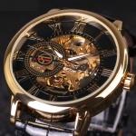 купить Мужские Скелетон часы Forsining Rich цена, отзывы