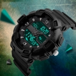 купить Мужские Спортивные Часы Skmei Black цена, отзывы