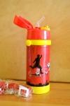 купить Термос детский с трубочкой Футбол (красный) цена, отзывы