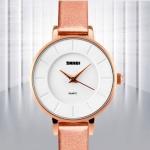 купить Женские классические часы Skmei Chocolate цена, отзывы
