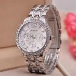 купить Женские классические часы Geneva Silver цена, отзывы
