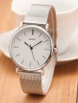купить Женские классические часы Geneva Steel Silver цена, отзывы