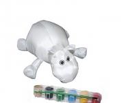 купить Мягкая игрушка раскраска Бегемотик цена, отзывы