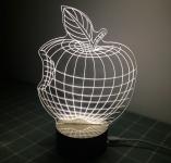купить Светильник Оптический обман 3D Apple цена, отзывы