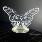 купить Светильник Оптический обман 3D Butterfly цена, отзывы