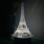 купить Светильник Оптический обман 3D Paris цена, отзывы