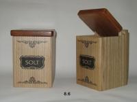 купить Деревянные контейнеры Solt Black цена, отзывы