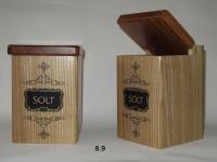 купить Деревянные контейнеры Solt Black Ornament цена, отзывы