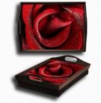 купить Поднос подушка Роза цена, отзывы