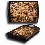 купить Поднос подушка Шоколад цена, отзывы