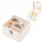 купить Деревянная шкатулка Лаванда 15x15x8 цена, отзывы