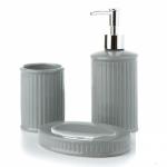 купить Керамический набор для ванной Нежность Grey цена, отзывы