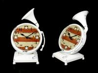 купить Часы Граммофон Антиквариат White цена, отзывы
