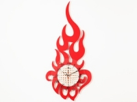 купить Настенные Часы Большое Пламя цена, отзывы