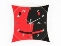 купить Настенные Часы Красное и Черное цена, отзывы