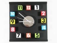 купить Настенные Часы Кубики цена, отзывы